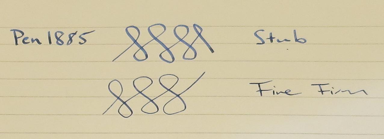 Visconti Calligraphy Pen - Two Nibs and Book (Pen 1885)