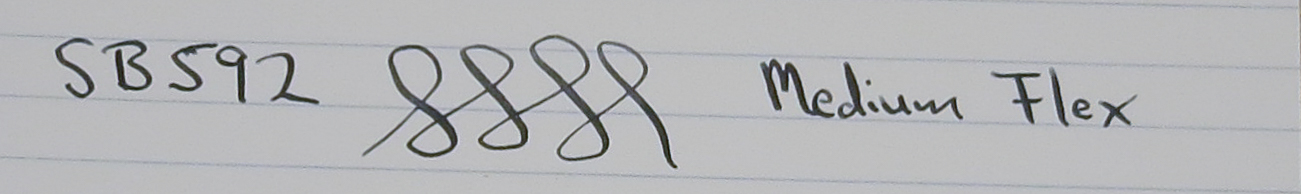 Perfecto 102 - Flexible Nib (SB592)