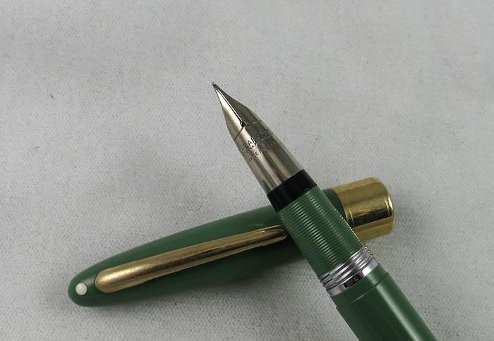Sheaffer Snorkel Statesman - Sage Green (SOL101)