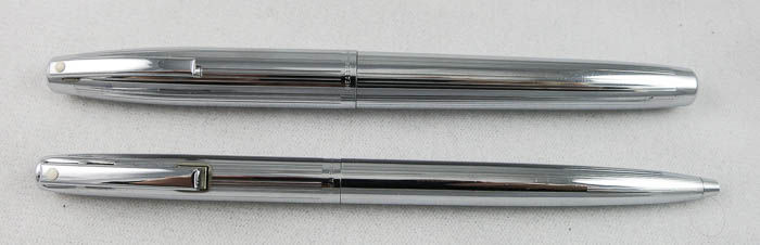 Chrome Steel Sheaffer Triumph Imperial Set (SOL 109) - PRICE REDUCED