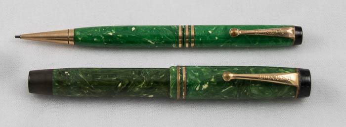 Parker Duofold Junior Jade P&P Set (Pen1877)