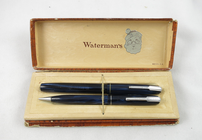 Waterman 1940s Lever Filler Set - Flex nib (Pen 2056)