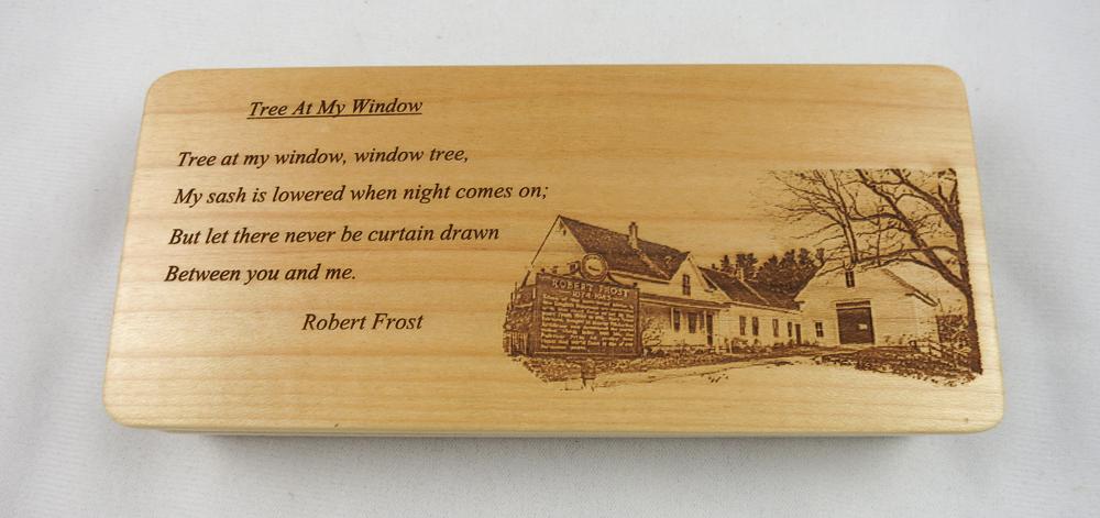 Robert Frost Maple Wood Pen - LE (Pen 2106)