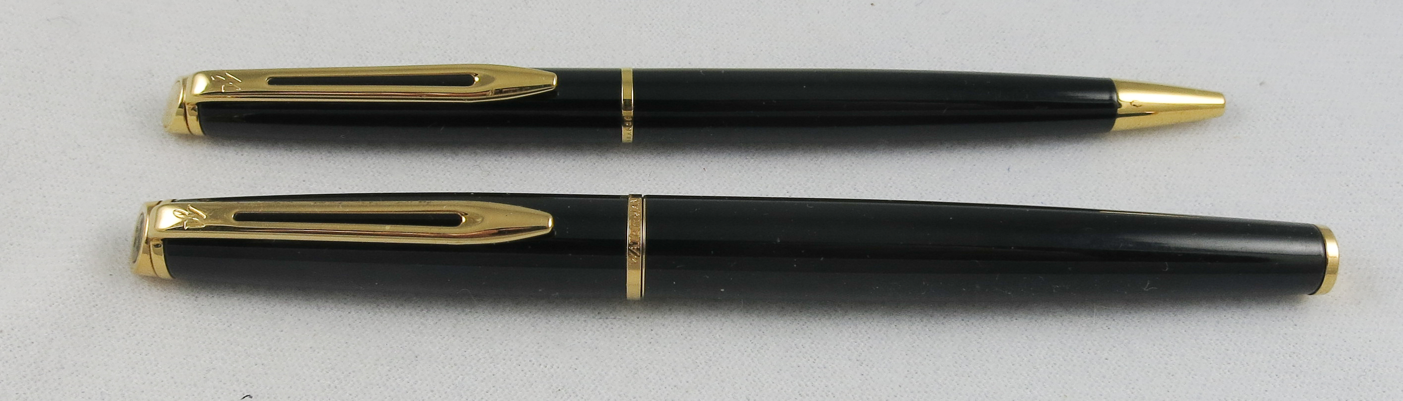 French Waterman Hemisphere ROLLER BALL/BALL POINT set (Pen 2162)