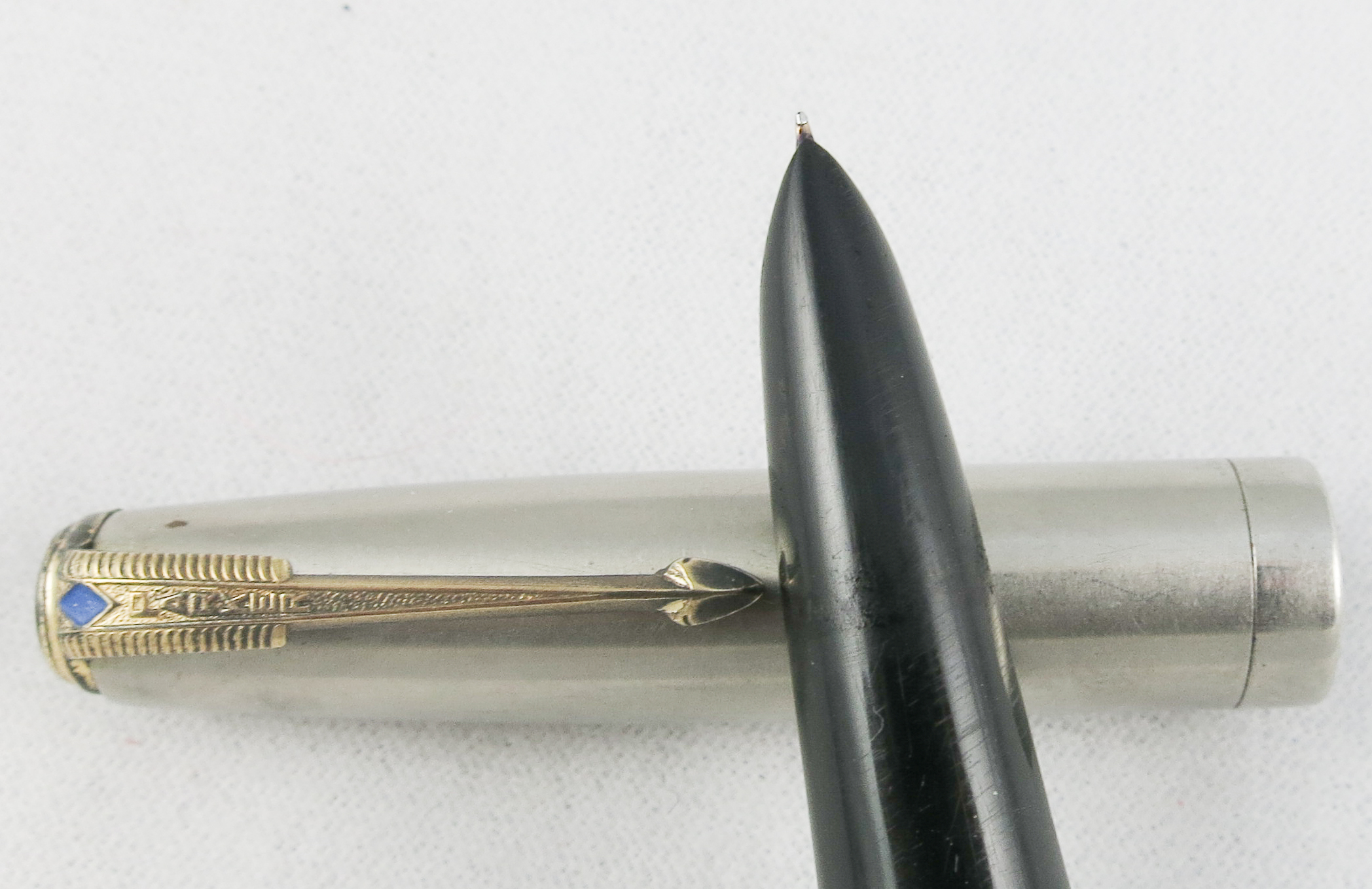 Parker 51 Aerometric - Lustralloy/Black (Pen2178)
