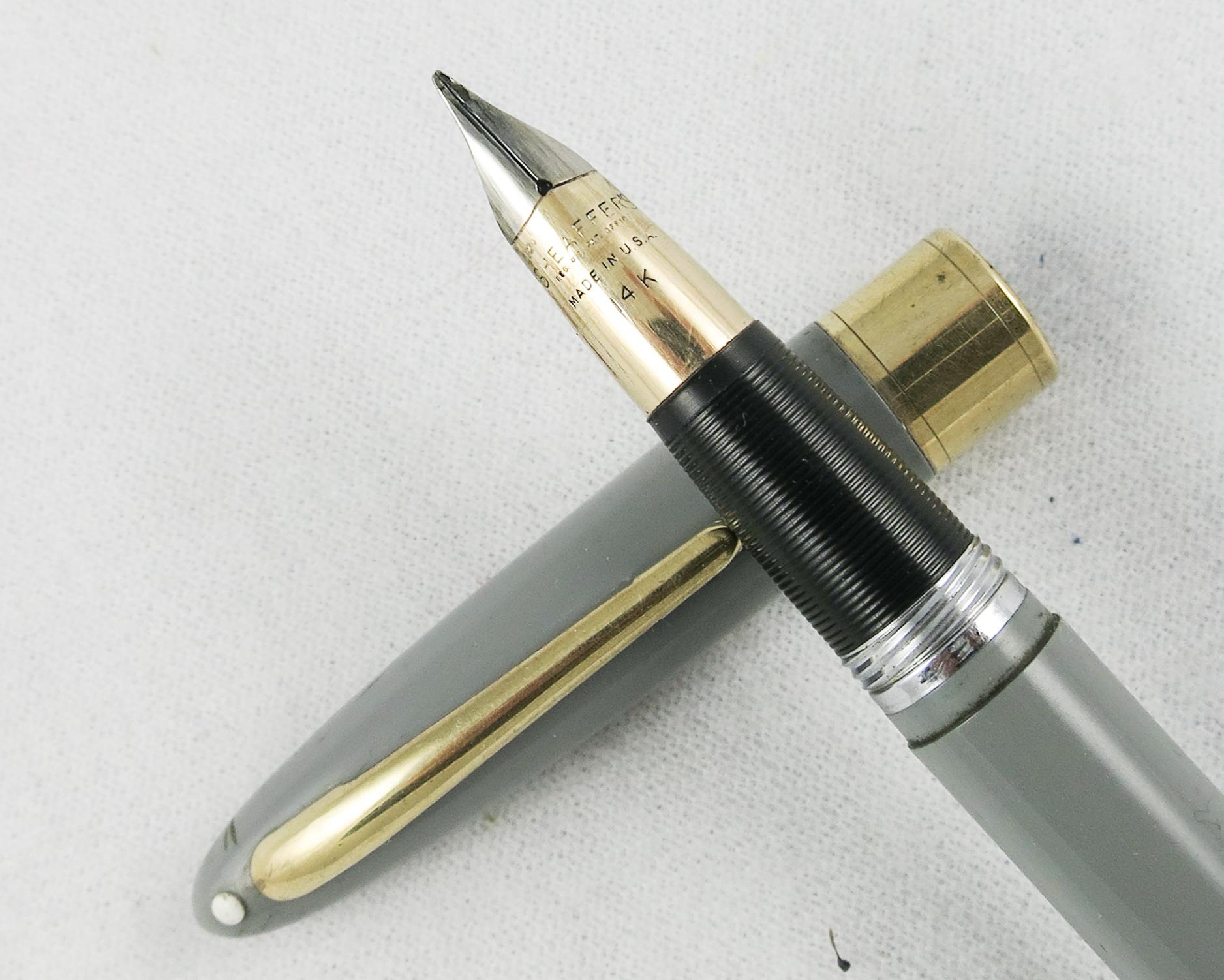 Sheaffer Snorkel Valiant - Gray (Pen 2180)