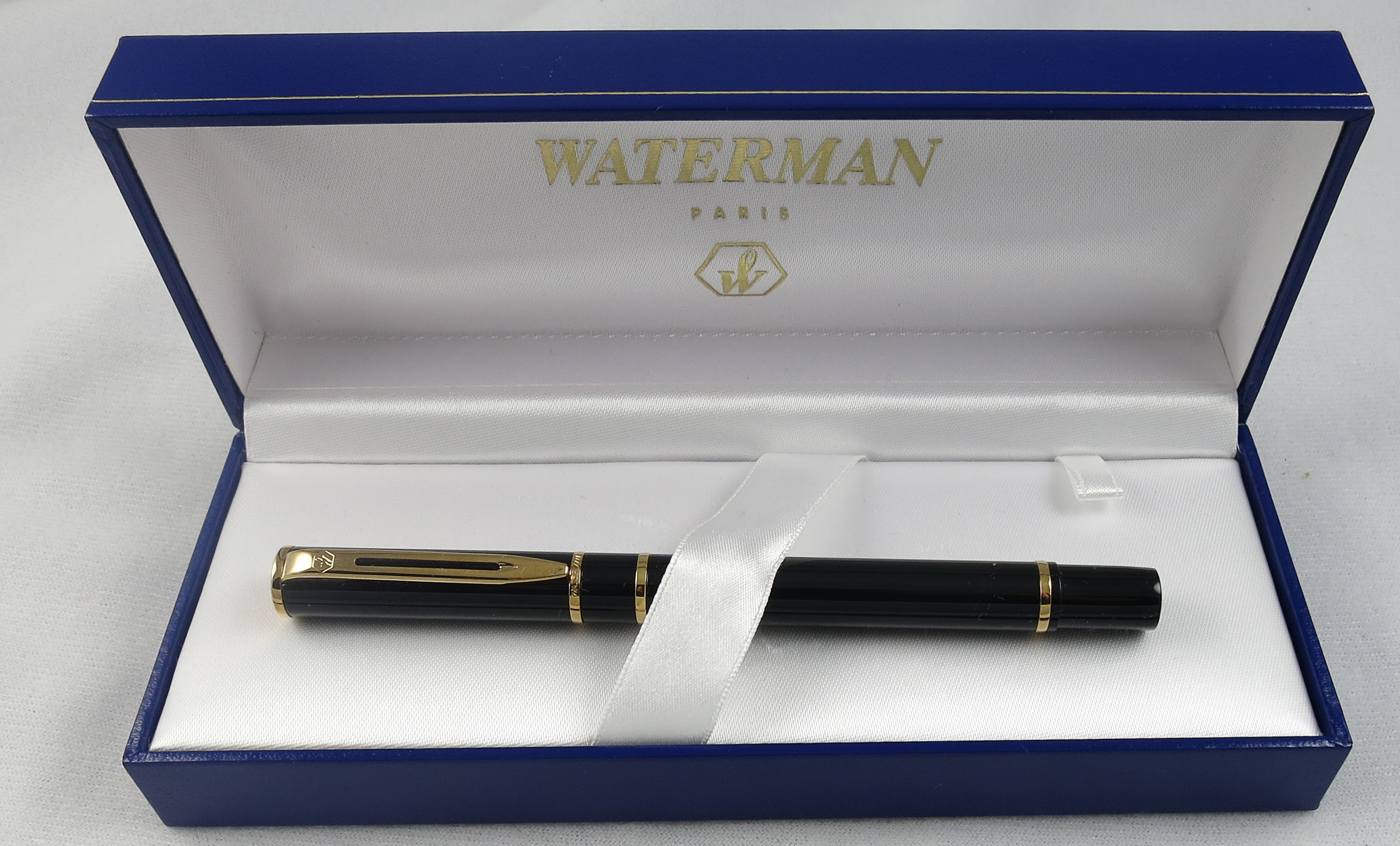 French Waterman Laureate - Black - NOS (Pen2236)
