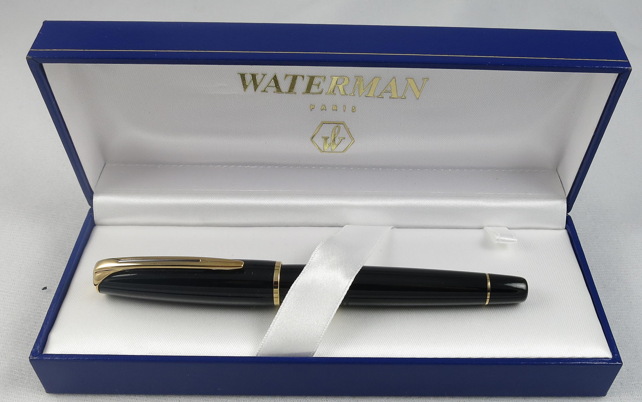 French Waterman Charleston - Black - NOS (Pen 2237)