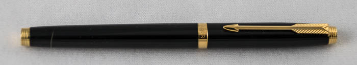 French Black Laque Parker 75 (SB427) - PRICE REDUCED