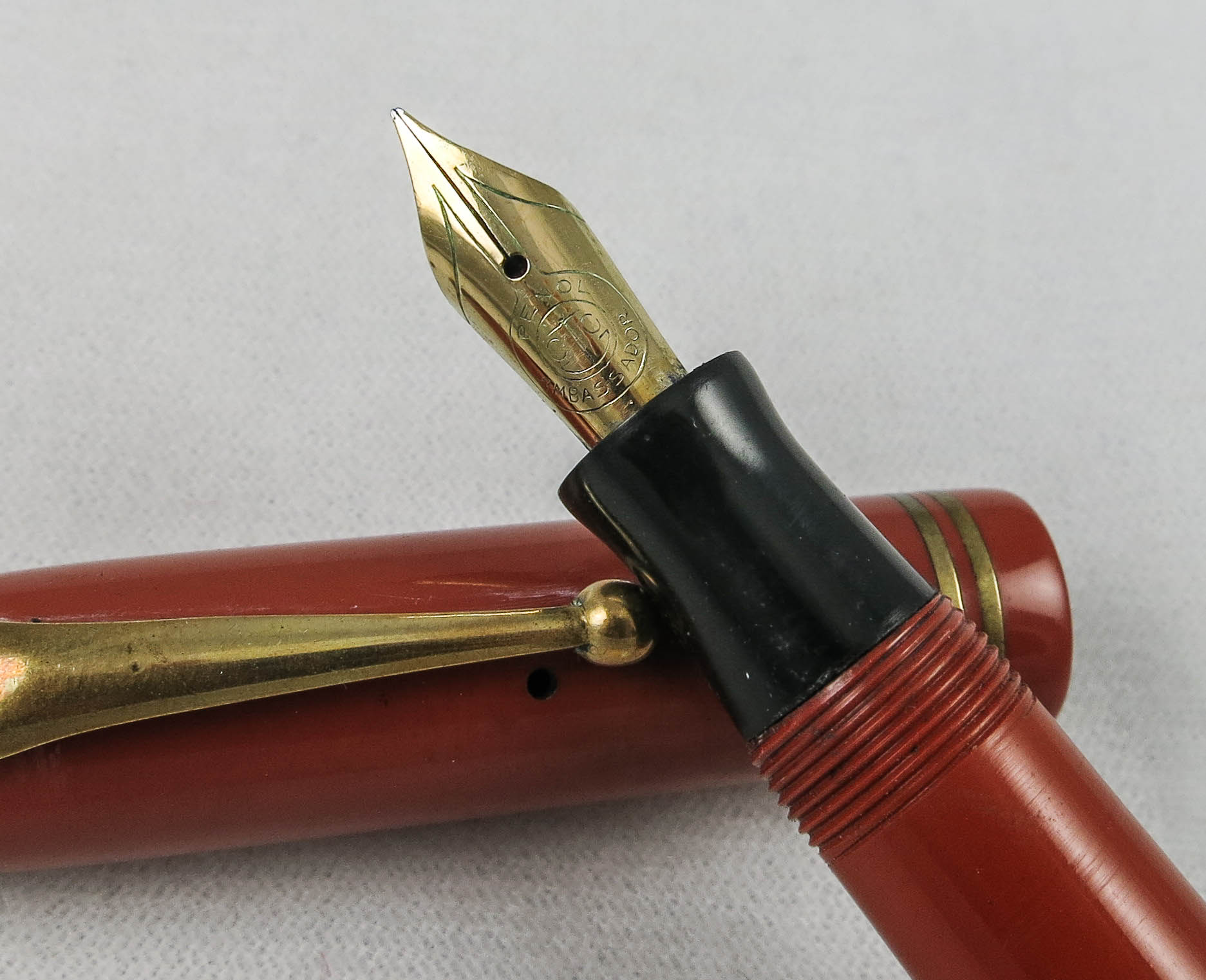 Danish Parker Streamline Duofold Junior (SB517) - PRICE REDUCED