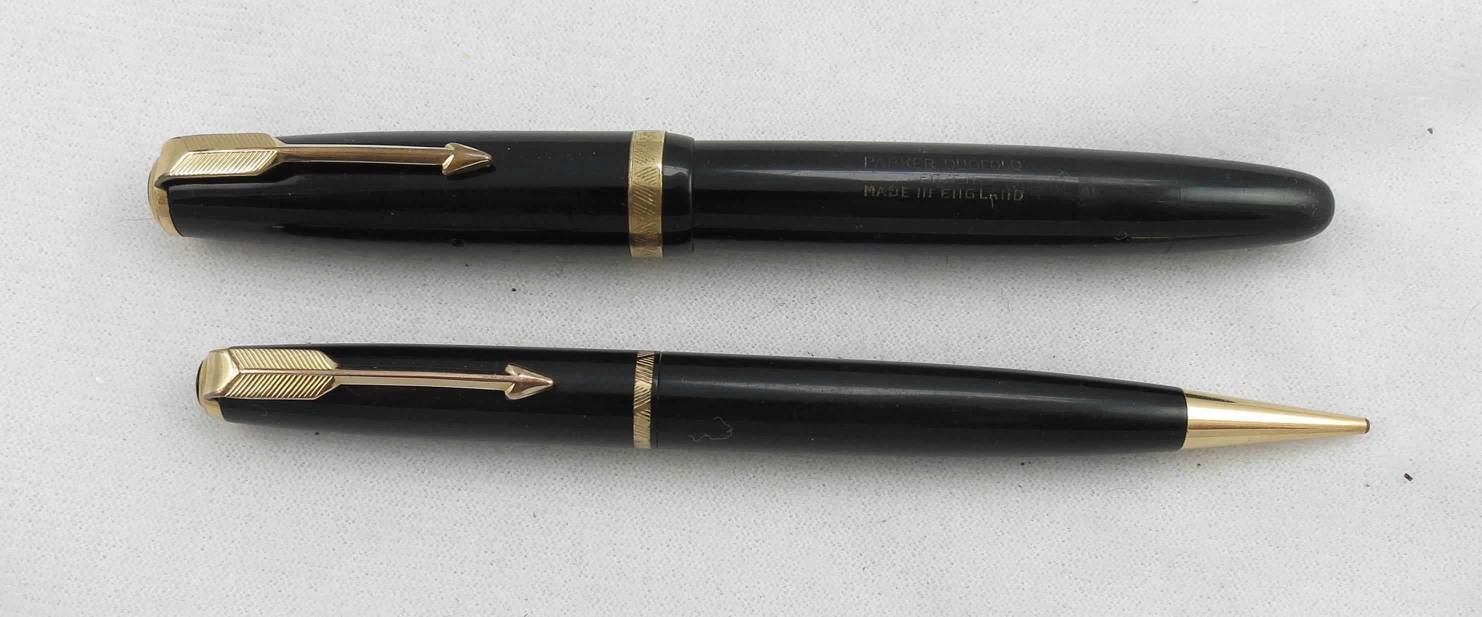 English Duofold Pen & Pencil Set (SB520) - PRICE REDUCED