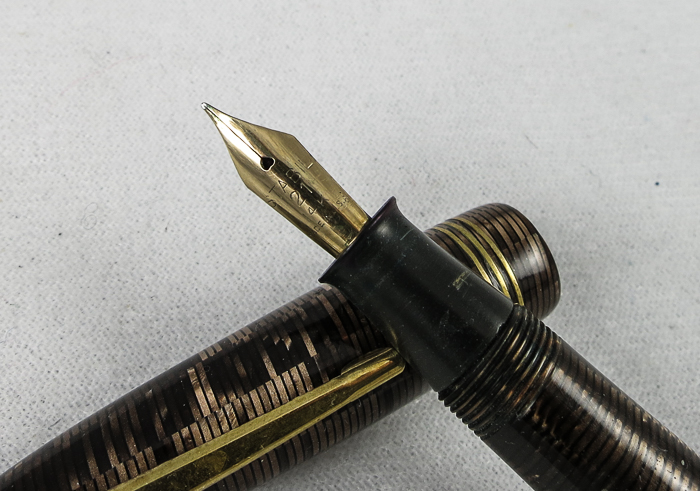 Stabil Gold Striated Button Filler - Flex Nib (SB531)