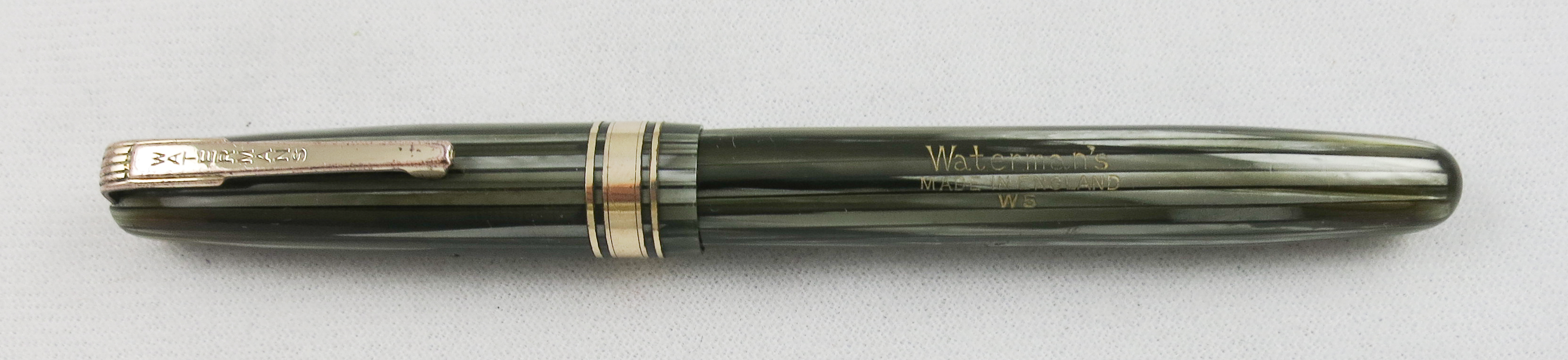 English Waterman W5 Gray Striated (SB 569)