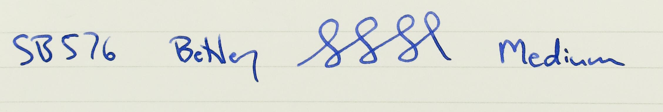 Bexley Goldline Blue & Sterling (SB 576)