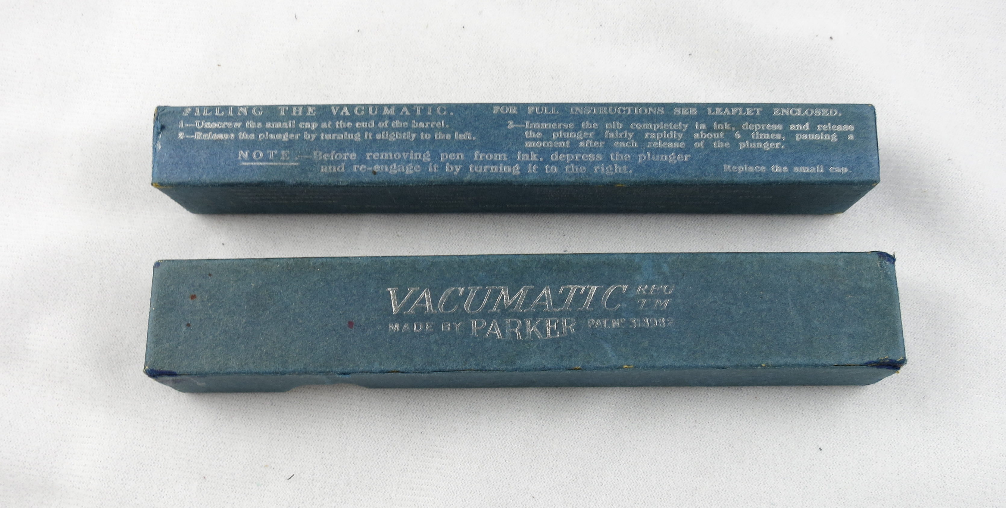 Vacumatic Juniorette - Green Marbled - Lockdown Filler - 1937 (SB590)