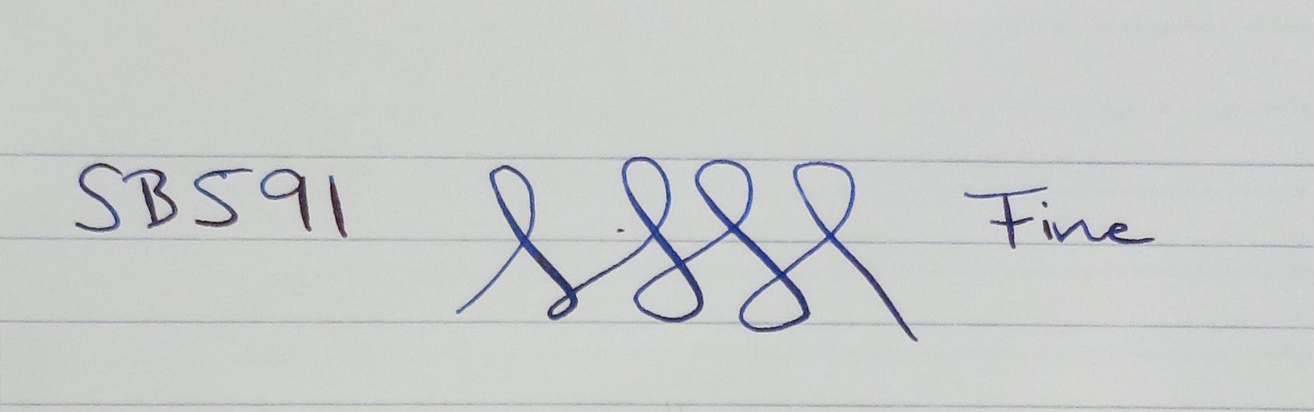 """""""The Fischer Pen"""" - Eggens-Hambler - Green-Gold Marbled (SB591)"""